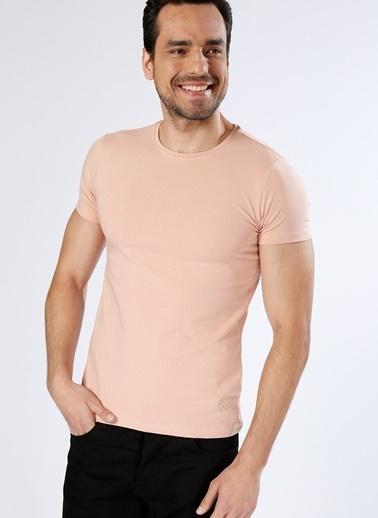 Loft Loft Basic Pembe T-Shirt Pembe